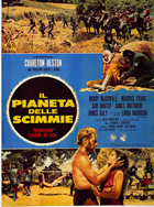 Planet of the Apes - 11 x 17 Movie Poster - Italian Style C