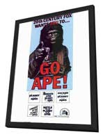 Planet of the Apes - 11 x 17 Movie Poster - Style B - in Deluxe Wood Frame