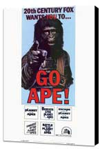 Planet of the Apes - 11 x 17 Movie Poster - Style B - Museum Wrapped Canvas