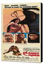 Planet of the Apes - 14 x 36 Movie Poster - Insert Style A - Museum Wrapped Canvas