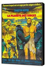 Planet of the Apes - 27 x 40 Movie Poster - French Style A - Museum Wrapped Canvas
