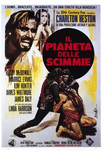 Planet of the Apes - 27 x 40 Movie Poster - Italian Style A