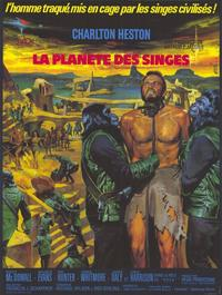 Planet of the Apes - 11 x 17 Movie Poster - German Style A
