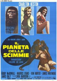 Planet of the Apes - 11 x 17 Movie Poster - Italian Style A