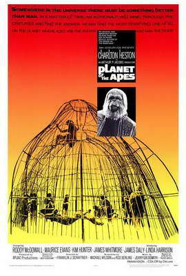 Planet of the Apes - 27 x 40 Movie Poster - Style A