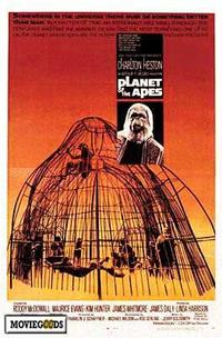 Planet of the Apes - 43 x 62 Movie Poster - Bus Shelter Style A