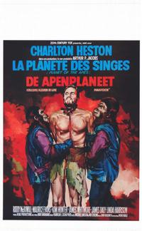 Planet of the Apes - 11 x 17 Movie Poster - Belgian Style A