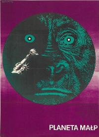 Planet of the Apes - 11 x 17 Movie Poster - Polish Style A