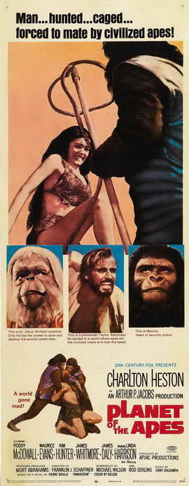 Planet of the Apes - 14 x 36 Movie Poster - Insert Style A