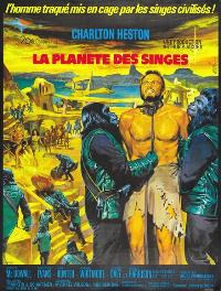 Planet of the Apes - 11 x 17 Movie Poster - French Style A