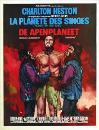 Planet of the Apes - 11 x 17 Movie Poster - Belgian Style B