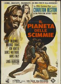 Planet of the Apes - 27 x 40 Movie Poster - Italian Style B