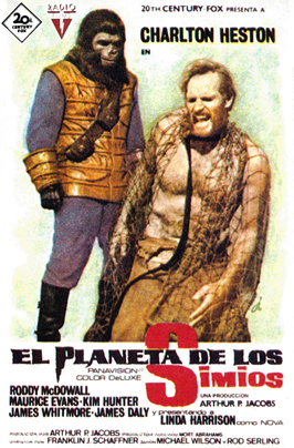 Planet of the Apes - 27 x 40 Movie Poster - Spanish Style B