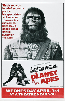 Planet of the Apes - 11 x 17 Movie Poster - Style J