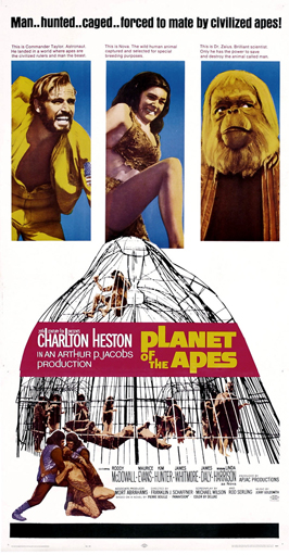 Planet of the Apes - 11 x 17 Movie Poster - Style M
