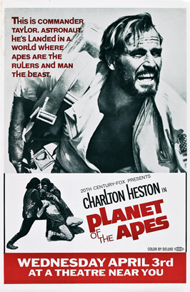 Planet of the Apes - 11 x 17 Movie Poster - Style K