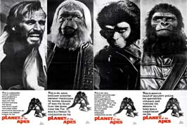 Planet of the Apes - 11 x 17 Movie Poster - Style N