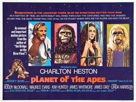 Planet of the Apes - 30 x 40 Movie Poster UK - Style A
