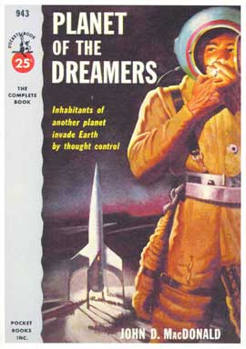 Planet of the Dreamers - 11 x 17 Retro Book Cover Poster