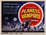 Planet of the Vampires - 11 x 17 Movie Poster - Style B