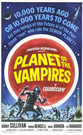Planet of the Vampires - 11 x 17 Movie Poster - Style A