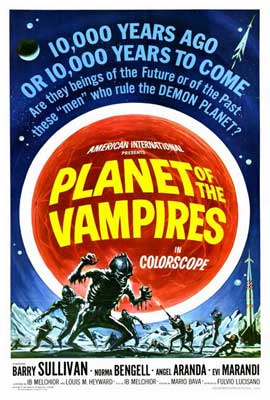 Planet of the Vampires - 27 x 40 Movie Poster - Style A