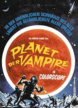 Planet of the Vampires - 11 x 17 Movie Poster - German Style A