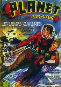 Planet Stories (Pulp) - 11 x 17 Pulp Poster - Style A