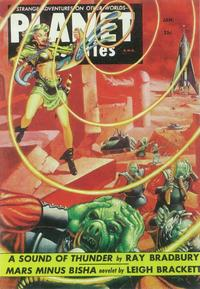 Planet Stories (Pulp) - 11 x 17 Pulp Poster - Style B