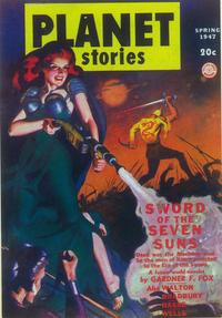 Planet Stories (Pulp) - 11 x 17 Pulp Poster - Style D