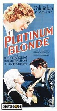 Platinum Blonde - 27 x 40 Movie Poster - Style A