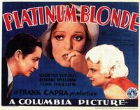 Platinum Blonde - 11 x 14 Movie Poster - Style A