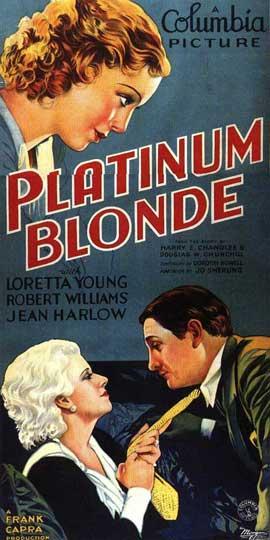 Platinum Blonde - 14 x 36 Movie Poster - Insert Style A
