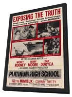 Platinum High School - 11 x 17 Movie Poster - Style A - in Deluxe Wood Frame
