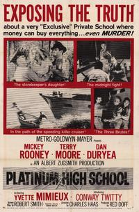 Platinum High School - 27 x 40 Movie Poster - Style A