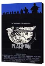 Platoon - 27 x 40 Movie Poster - Style A - Museum Wrapped Canvas