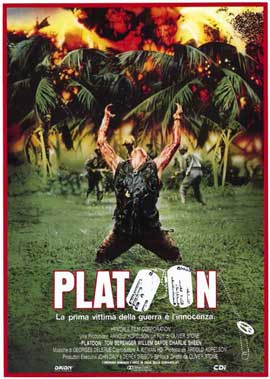 Platoon - 11 x 17 Poster - Foreign - Style A