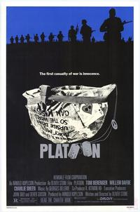 Platoon - 11 x 17 Movie Poster - Style A - Museum Wrapped Canvas