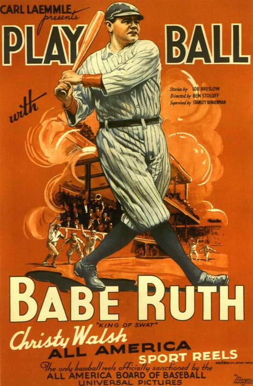 Play Ball With Babe Ruth Movie Posters From Movie Poster Shop