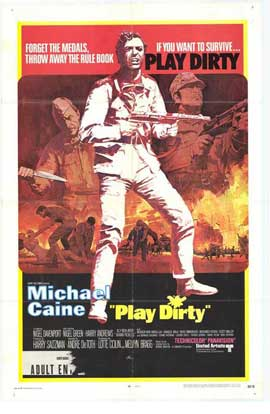 Play Dirty - 27 x 40 Movie Poster - Style A