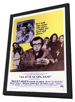 Play It Again, Sam - 11 x 17 Movie Poster - Style A - in Deluxe Wood Frame