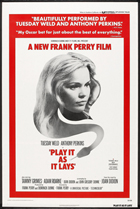 Play It As It Lays - 11 x 17 Movie Poster - Style B