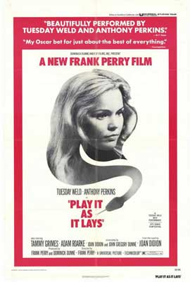 Play It As It Lays - 27 x 40 Movie Poster - Style A