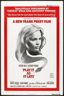Play It As It Lays - 27 x 40 Movie Poster - Style B