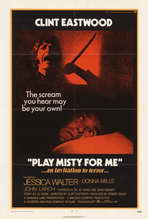 Play Misty for Me - 27 x 40 Movie Poster - Style A