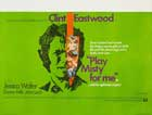 Play Misty for Me - 27 x 40 Movie Poster - UK Style A