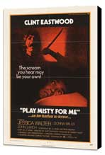 Play Misty for Me - 27 x 40 Movie Poster - Style A - Museum Wrapped Canvas