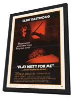 Play Misty for Me - 11 x 17 Movie Poster - Style A - in Deluxe Wood Frame