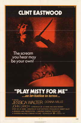 Play Misty for Me - 11 x 17 Movie Poster - Style A