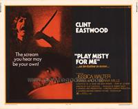 Play Misty for Me - 11 x 14 Movie Poster - Style A